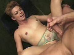 Lustful mature gets cum by captain after fuck