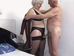 Granny has oral n gets cock in cunt